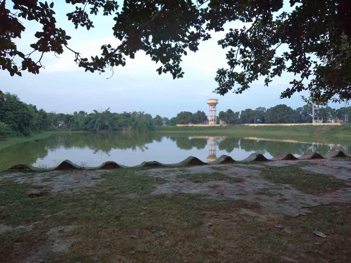 Pond at Sabha Gachhi