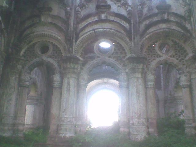 "The inner part of ""Navlakha Mahal"""