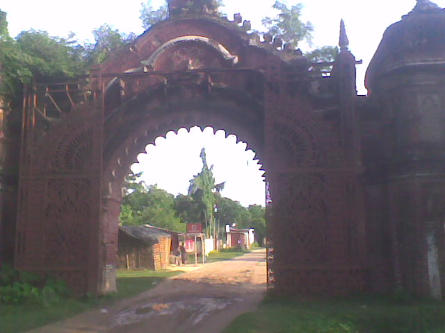 "The Exit gate of the other side of the ancient ""Rajnagar"""