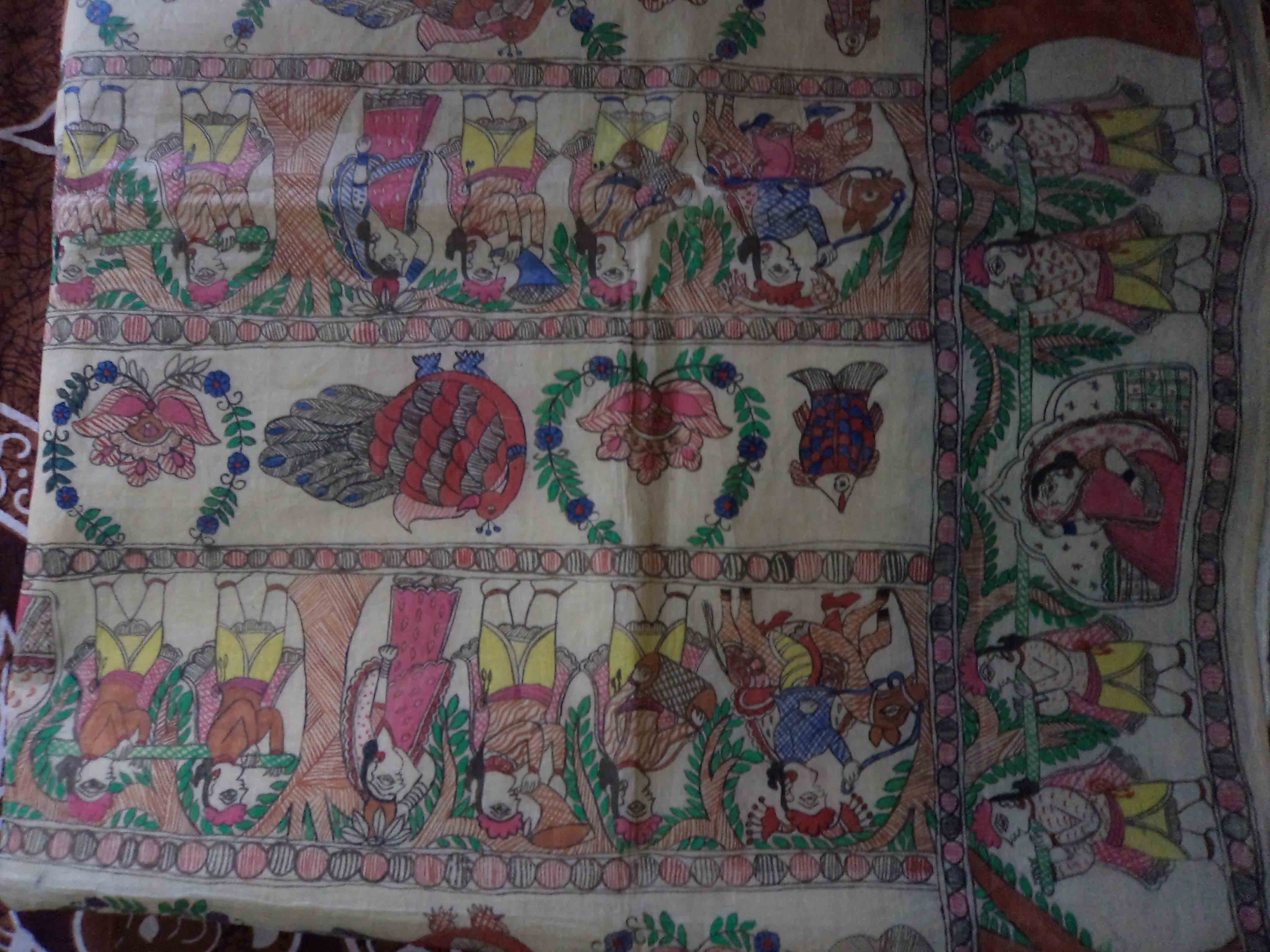 Mithilanchal Saree (Aanchal)