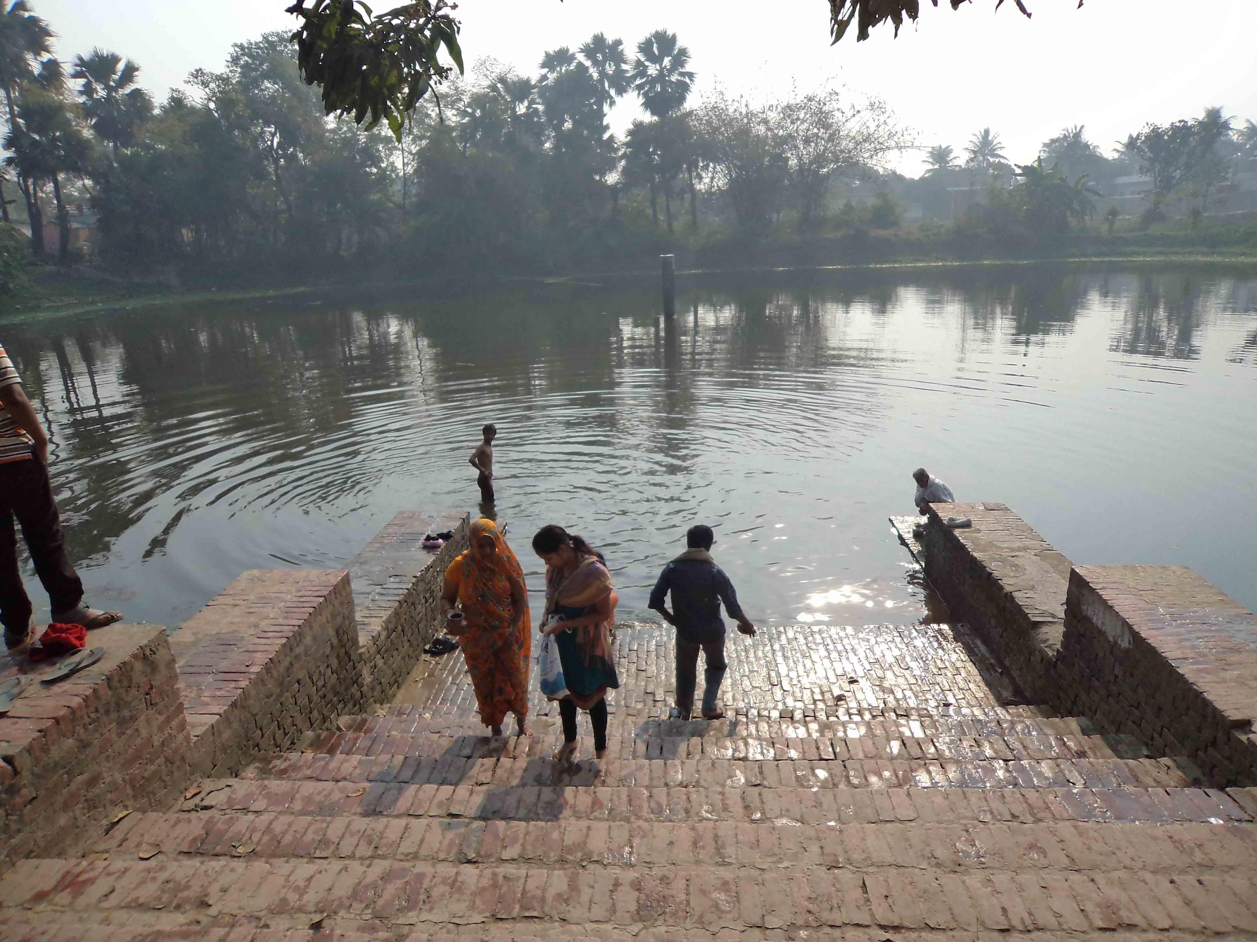 Pond near Ekadash Rudra Temple