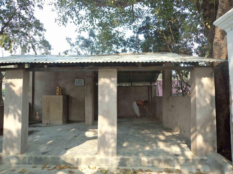 Shradhasthali at Ekadash Rudra Temple