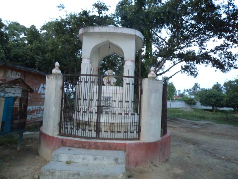 Idol of the great poet Vidyapati